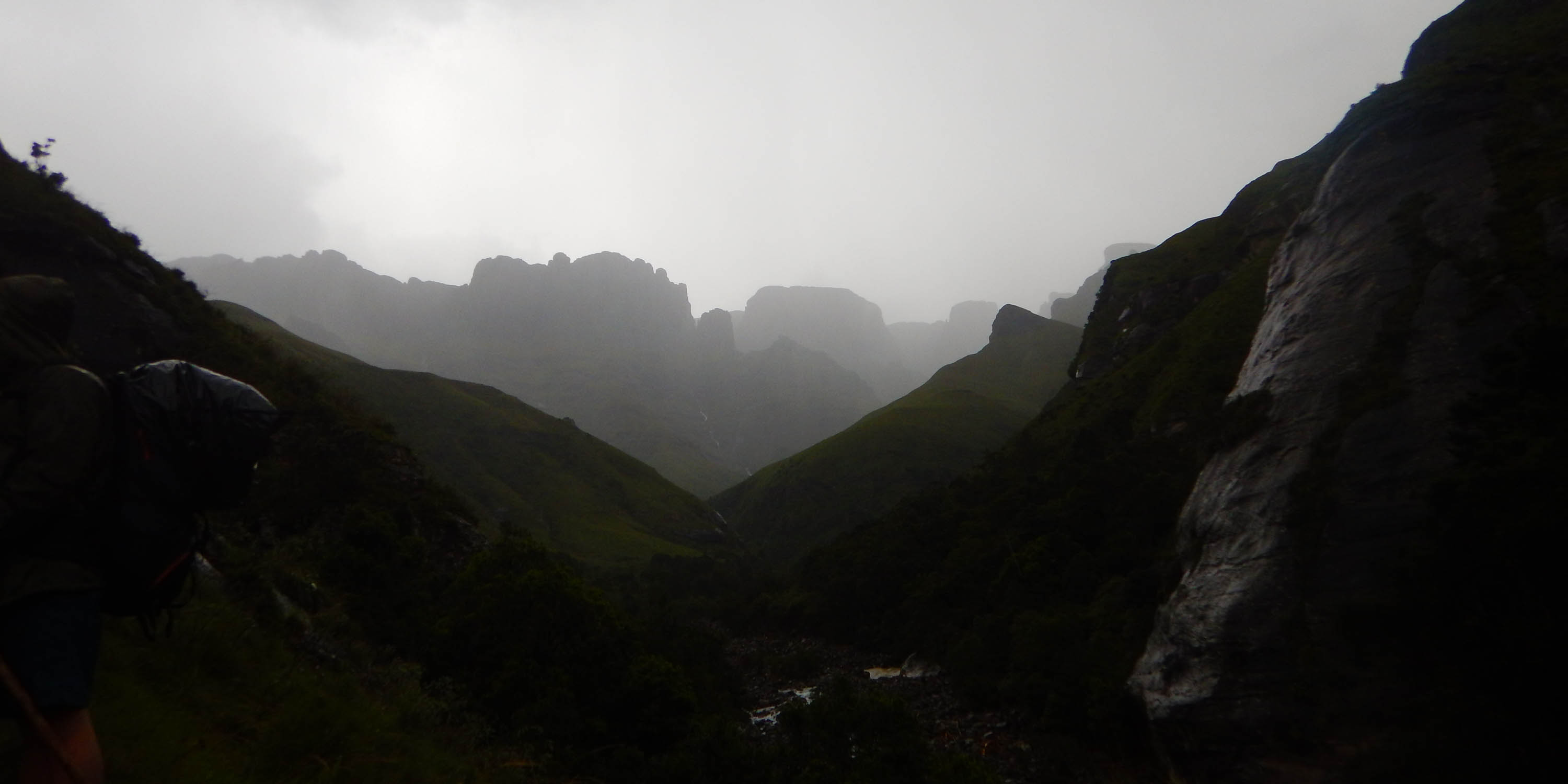 Raining in the Xeni Valley